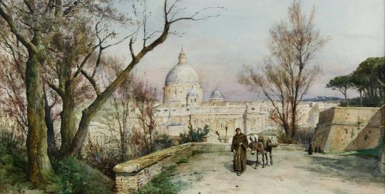 ettore roesler franz San Pietro