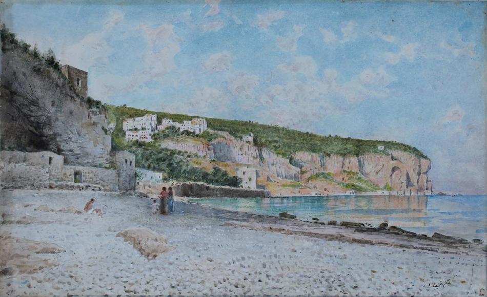 edoardo monteforte spiaggia di seiano