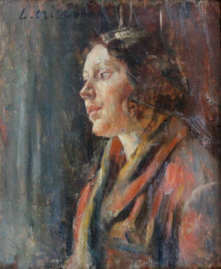 Luigi Crisconio ritratto moglie