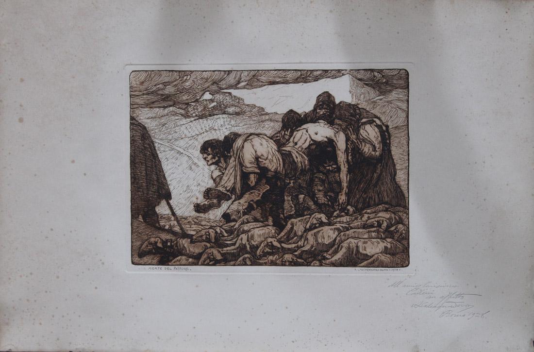 la morte del pastore_antonino_calcagnadoro