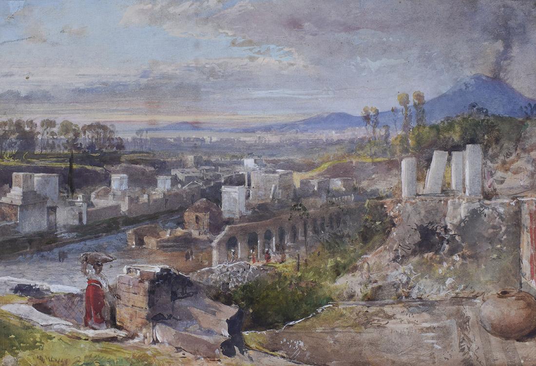 giacinto gigante via dei sepolcri pompei