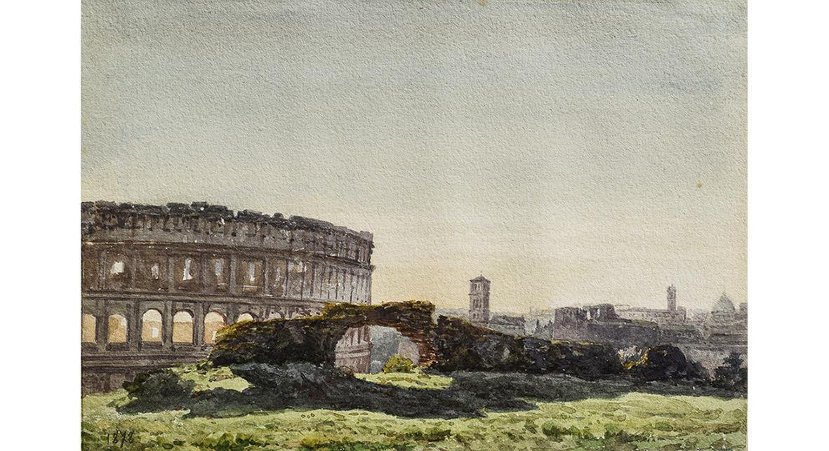 13 Pietro Sassi al colosseo