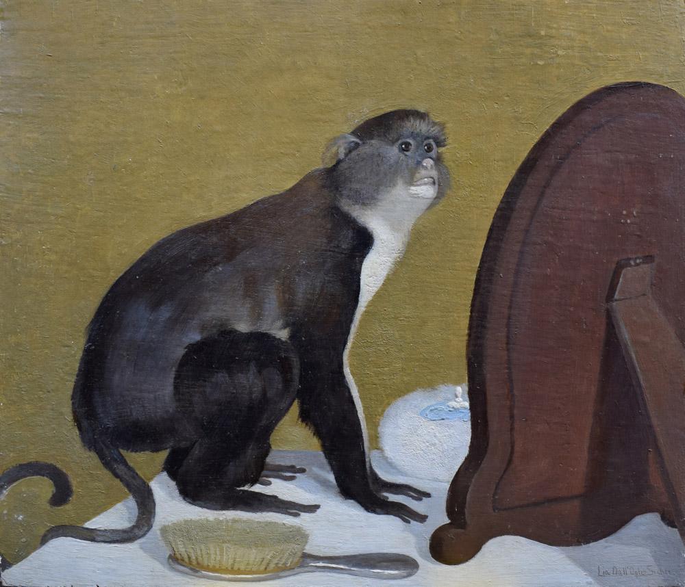 lia dall oglio sicher scimmia allo specchio