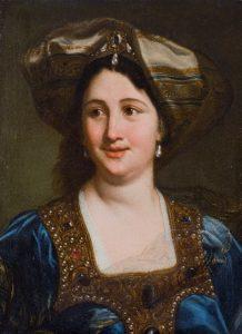 Baciccio, Ritratto di giovane donna in abito orientale