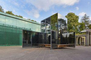 Gli ambienti del Museum Rietberg, a Zurigo