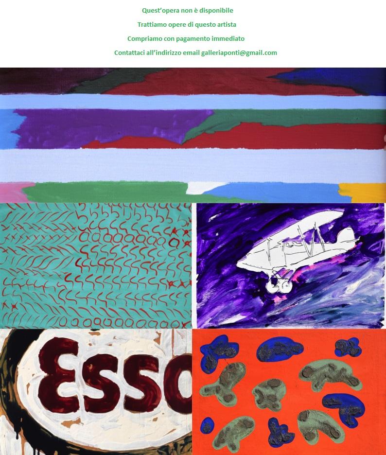 Cesare Tacchi archivio-acquisto-valutazione
