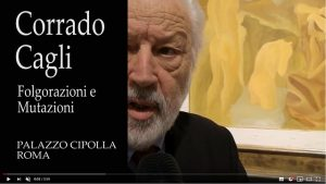 L'intervista al curatore Bruno Corà disponibile su Youtube