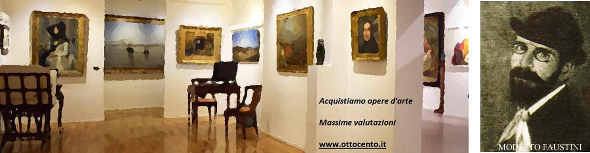 Modesto Faustini valore e prezzi opere