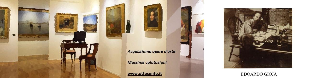 Edoardo Gioja valore e prezzi dei quadri