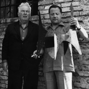 Alexander Calder and Giovanni Carandente