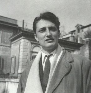 Tancredi, Roma 1950 foto di Milton Gendel