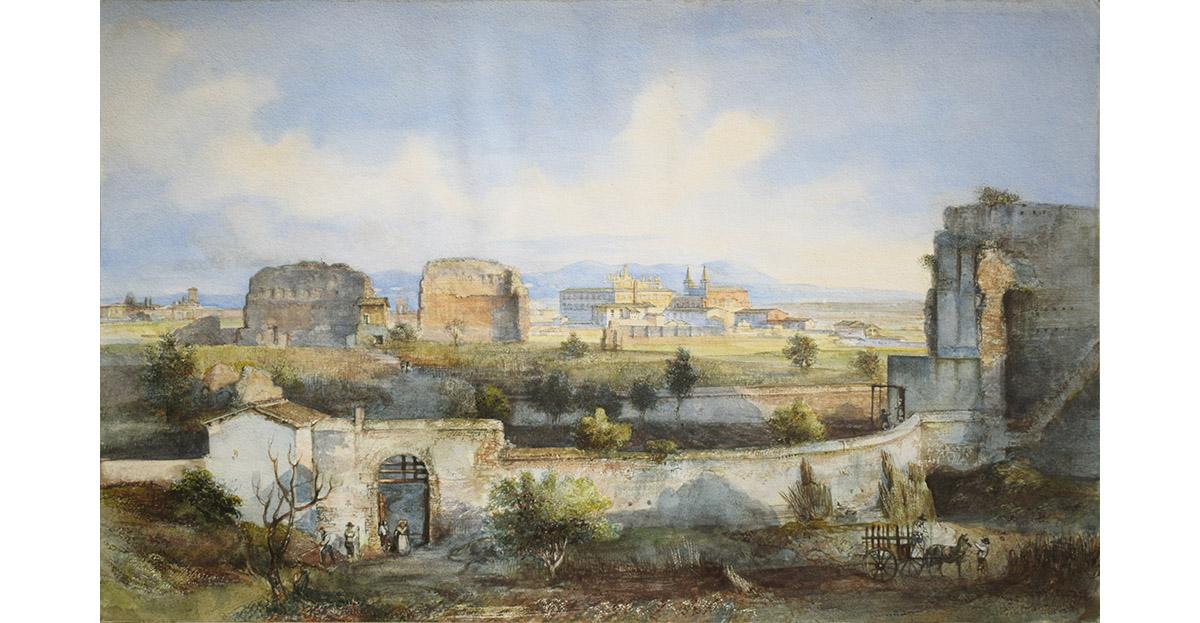 2 scuola romana XIX sec colle oppio
